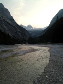 Die Einsamkeit der Berge.